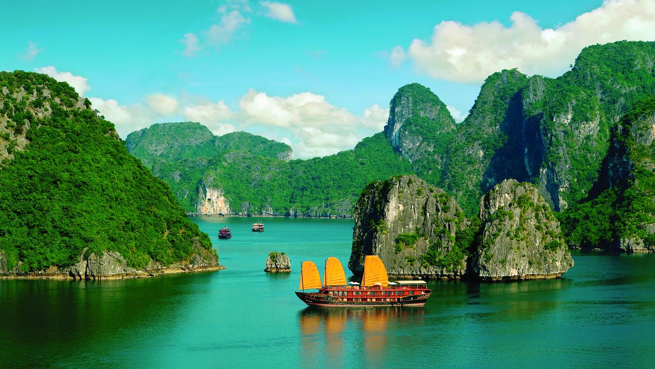 Bahía de Halong - Viajes programados a Vietnam