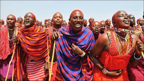 Safari en Tanzania, guerreros masai