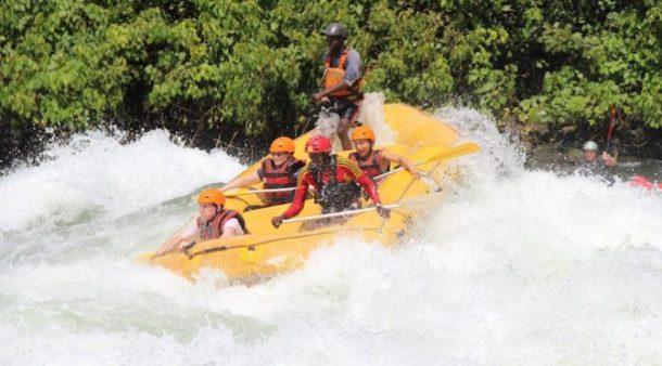 Rafting en Jinja - viaje a medida a Uganda
