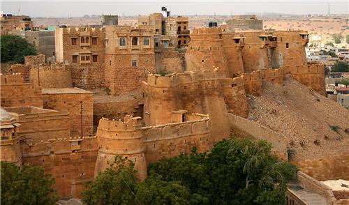 Fuerte de Jaisalmer, viaje a medida a India