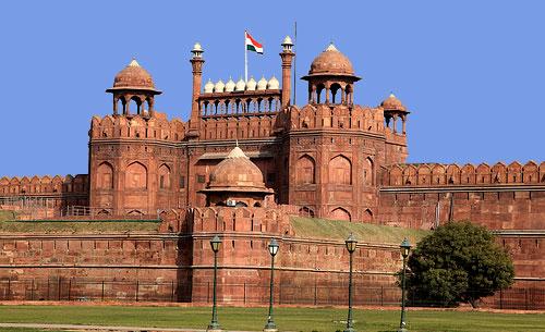 Viaje a India, Fuerte rojo, Delhi