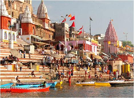 Ghats de Varanasi, viaje a India