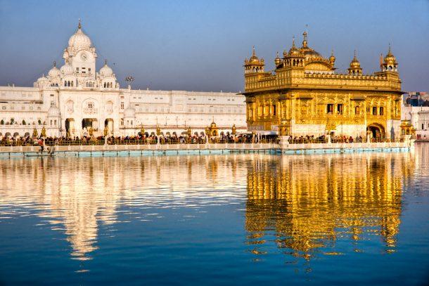 Templo dorado, Punjab, viaje a India