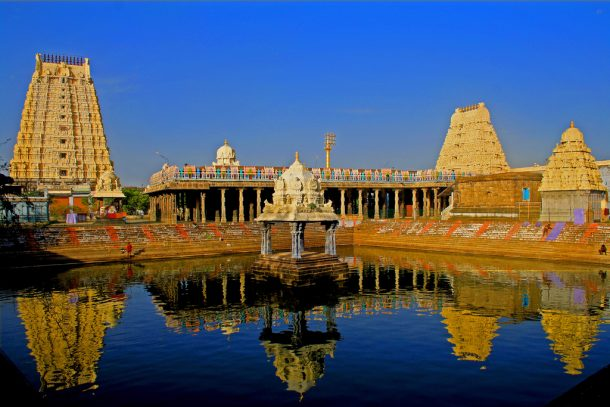 Viaje a India, templo de Kanchipuram