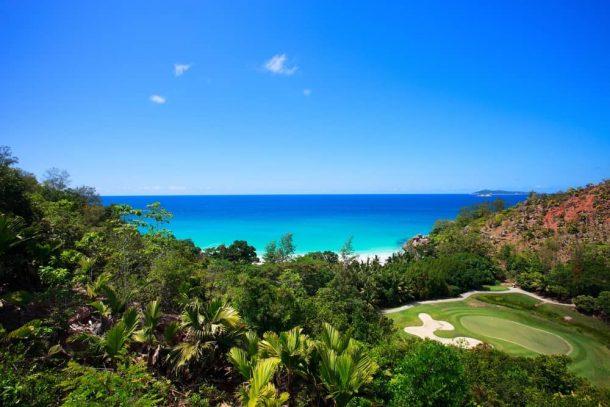 Viaje a Seychelles - Campo de golf