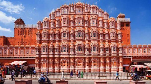 Hawa Mahal, viaje a India