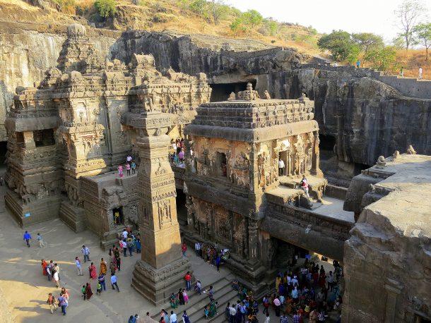 Viaje a India del Sur, cuevas de Ellora y Ajanta