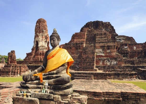 Ayutthaya-reinos de siam y rio kwai