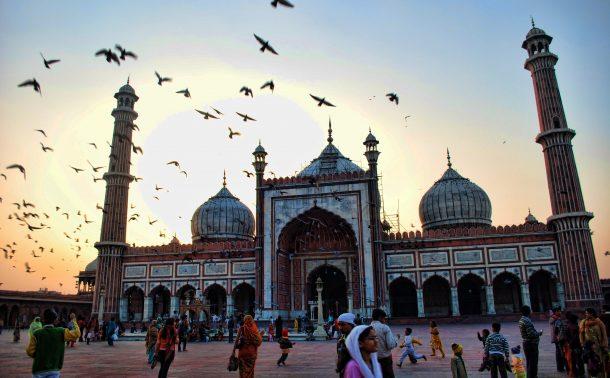 Jama Masjid, Delhi - viaje al norte de la India y Nepal