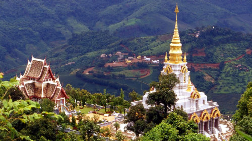 viaje a Tailandia, Doi Mae Salong
