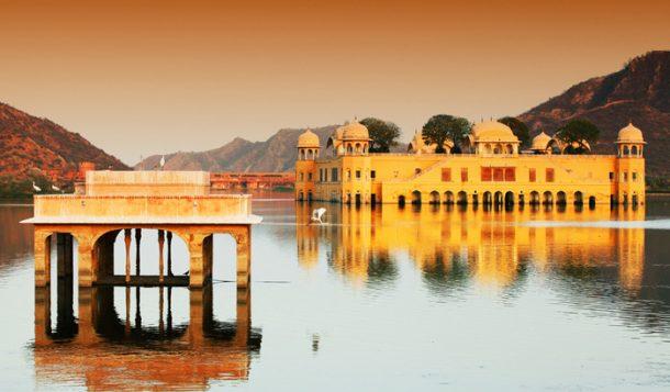 Jal Mahal, Jaipur - circuito por el norte de India