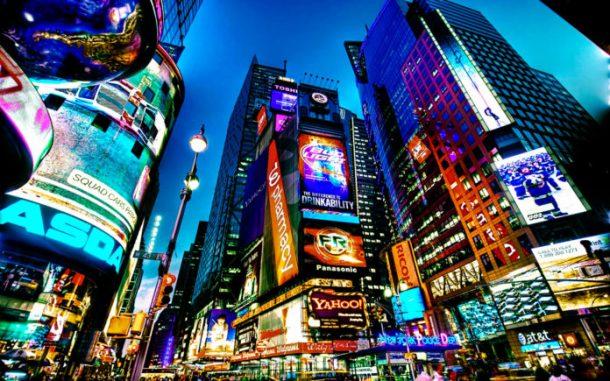 Times Square, Nueva York - circuito por Estados Unidos y Canadá
