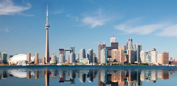 Skyline de Toronto - canada clasico especial con niagara