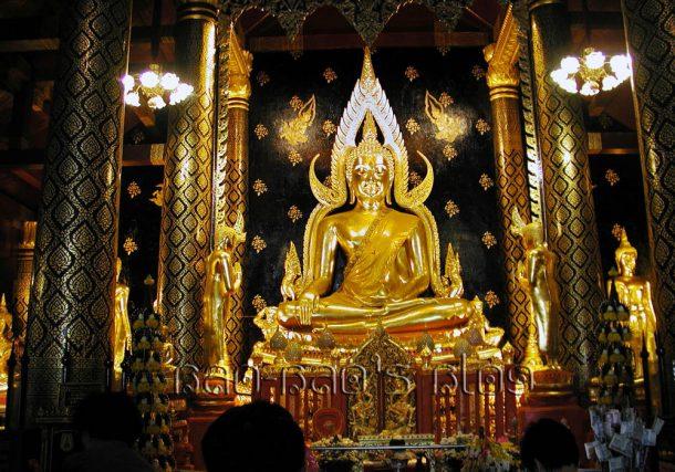 Viaje a Tailandia, templo de Phitsanulok