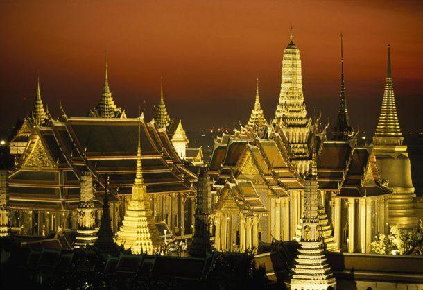 Circuito por Tailandia, Palacio real, Bangkok