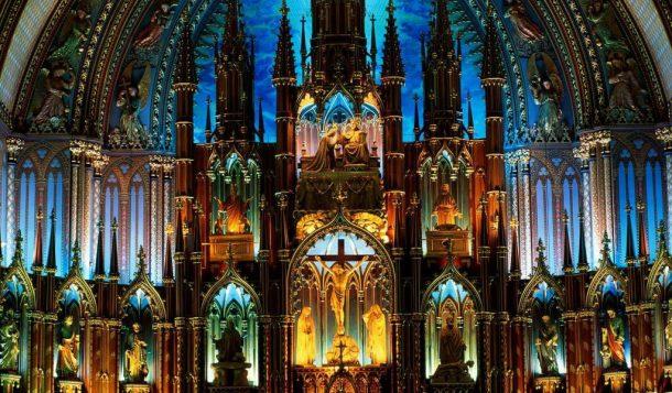 Basílica de notre dame, Montreal - circuito por Estados Unidos y Canadá