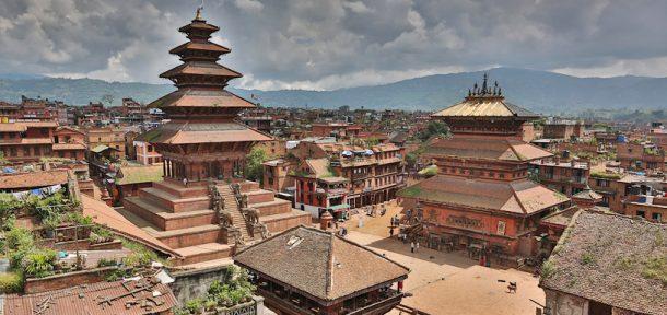 Plaza Durbar de Bhaktapur - viaje a Butan y Nepal