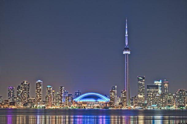 Panorámica de Toronto y la torre CN - viaje a Canadá