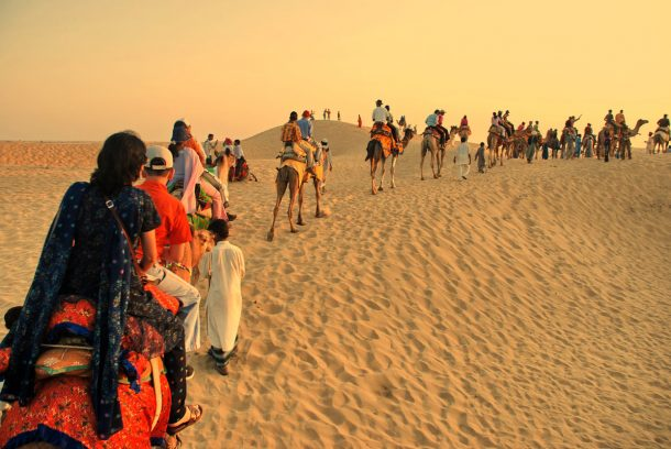 Desiert del Thar, Osian - Circuito por India