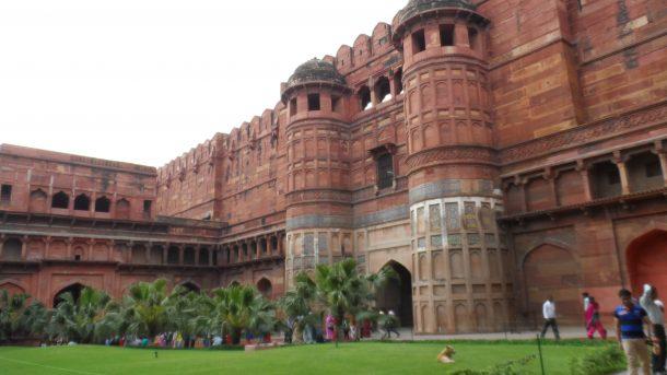 Fuerte rojo de Agar - circuito por el norte de India