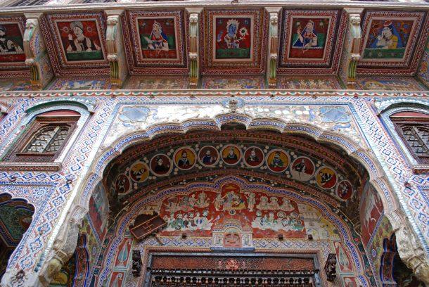 Haveli de Shekawathi - Circuito por India