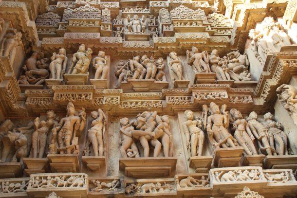 Templos eróticos de Khajuraho - viaje al norte de la India y Nepal