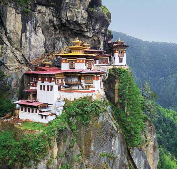Monasterior Taktsang, Paro - viaje a Butan y Nepal