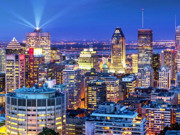 Centro de Montreal - viaje a Canadá