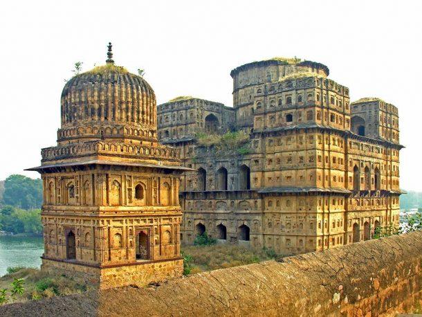 Cenotafios de Orchha - viaje a la India y Nepal