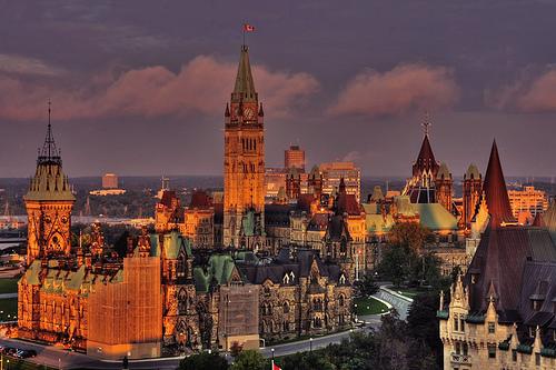 Colina del Parlamento, Ottawa - viaje a Canadá