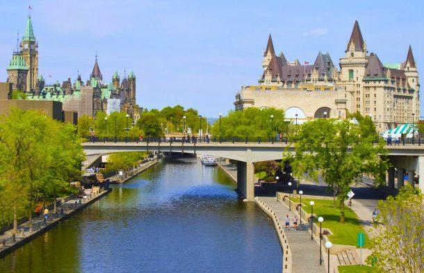 Canal Rideau, Ottawa - circuito por Canadá