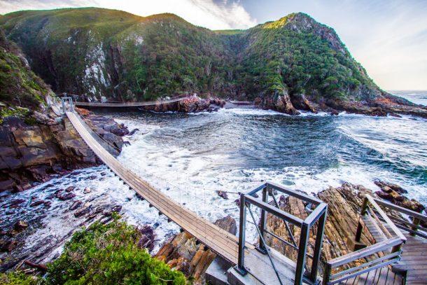 Puente colgante de Tsitsikamma - viaje por Sudafrica