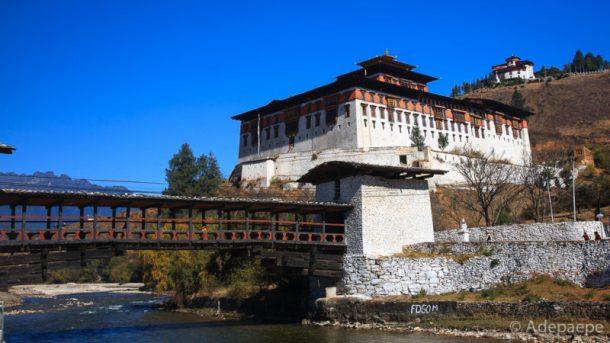 Rinpung Dzong - viaje a Butan y Nepal