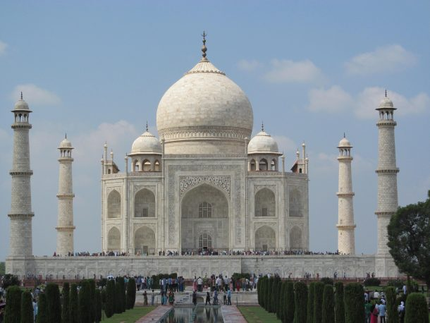Taj Mahal, Agra - Circuito por India