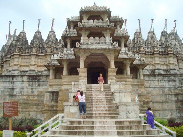 Templo Chamunkha, Ranakpur - Circuito por India