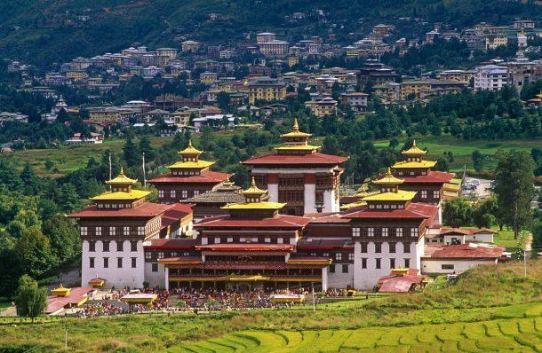 Thimphu Dzong - viaje a Butan y Nepal