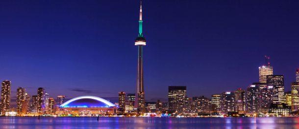 Skyline Toronto-encantos del este de estados unidos y canada