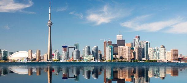 Toronto skyline - viaje a Estados Unidos