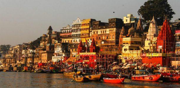 Ghats de Varanasi - viaje a la India y Nepal