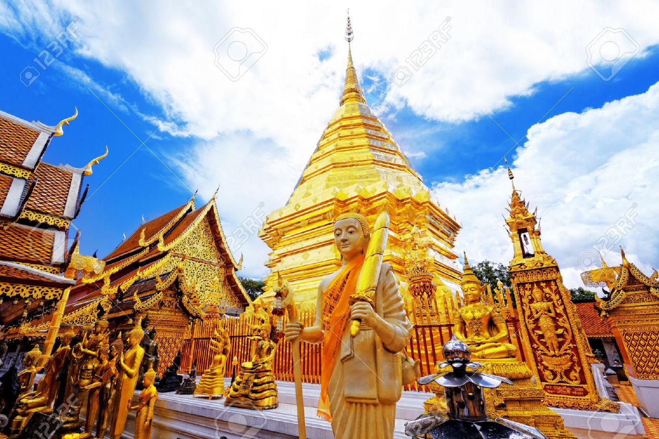 Templo del Doi Suthep-circuito Norte a Sur de Tailandia