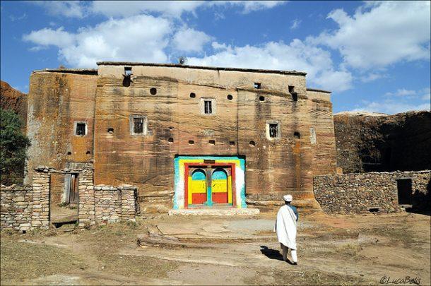 Iglesia de Mikael Imba - viaje a Etiopía ruta cultural