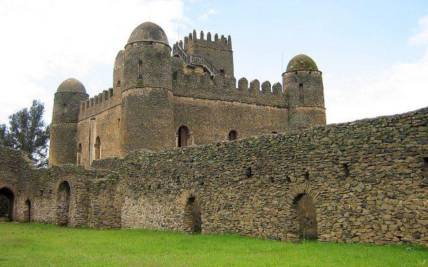Castillo de Fasilades, Gondar - viaje por la ruta histórica de Etiopía