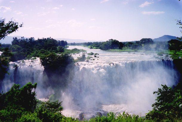 Cataratas del Nilo azul - viaje por la ruta histórica de Etiopía