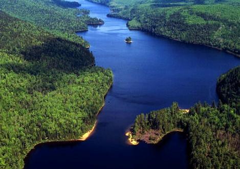 Lago Edouard, La Mauricie - circuito por Quebec