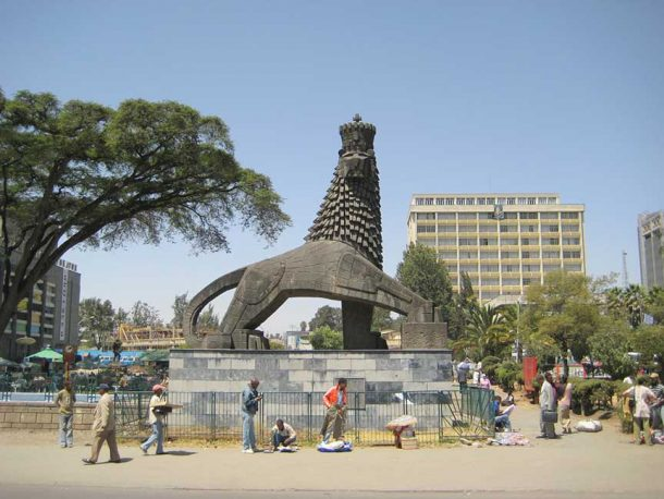 león de judea - viaje a Etiopía ruta cultural