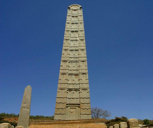 Obelisco de Axum - viaje por la ruta histórica de Etiopía