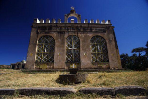 Iglesia de Sta. María de Sión, Aksum - viaje por la ruta histórica de Etiopía
