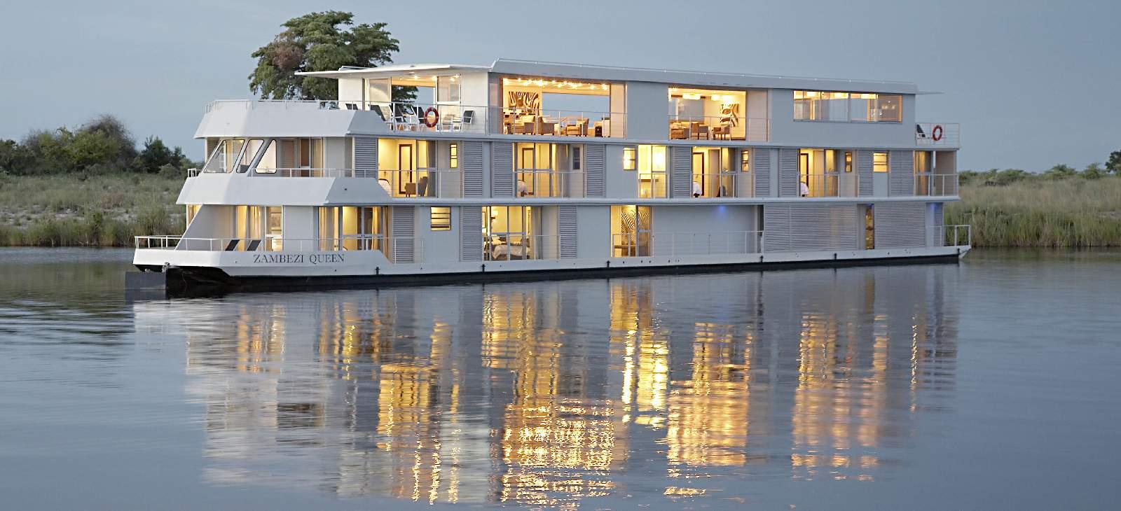 Zambezi Queen - Crucero por el río Chobe