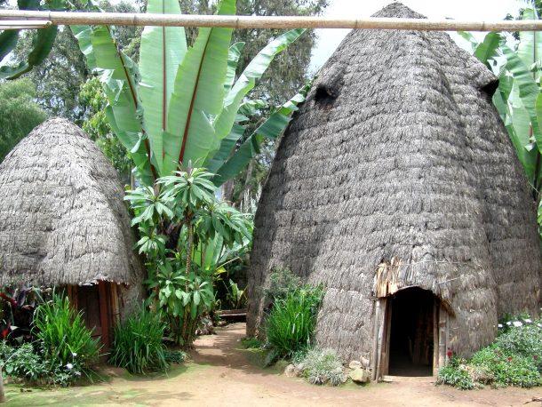 Casas Dorze - viaje al sur de Etiopia
