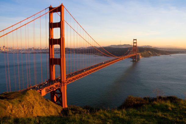 Golden Gate - circuito por Estados Unidos costa oeste